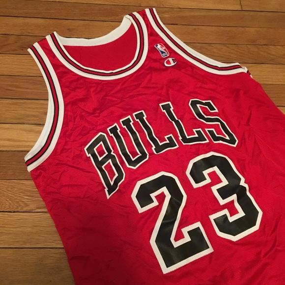 vintage jordan bulls jersey